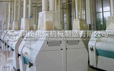面粉加工机械磨锟如何破碎小麦